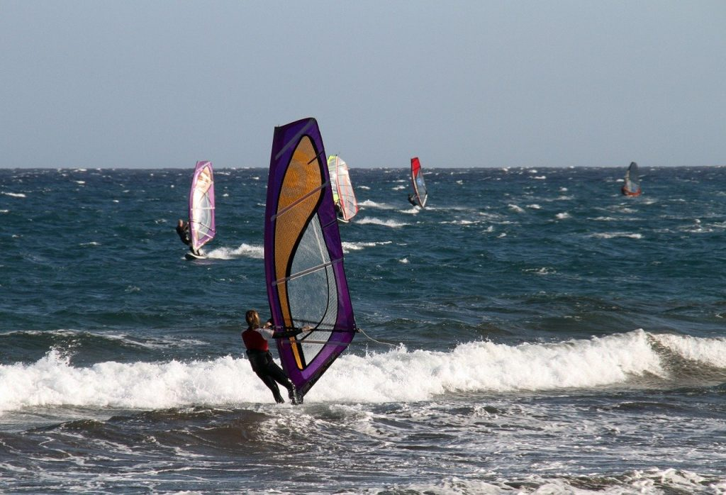 windsurf, wind, surfing